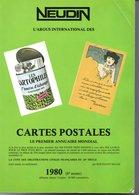1980 NEUDIN CARTES POSTALES REPERTOIRE ARGUS - Books, Magazines, Comics