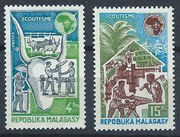 Madagascar YT 538-539 XX / MNH Scoutisme - Madagascar (1960-...)