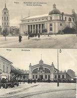 1914/18 - VILNIUS  Wilna , 2 Stk., Gute Zustand, 2 Scan - Lithuania