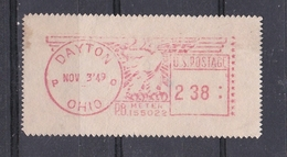 USA 1949 DAYTON PRAGMA FRAMA AUTOMATIC  STAMPS AUTOMATPORTO AUTOMATENMARKEN AUTOMAT MÄRKE - United States