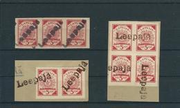 1919 , 5 Kap. Einheiten Mit Not-Stempel !  #a1577 - Lettland