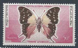 Madagascar YT PA 80 XX / MNH Papillon Butterfly - Madagascar (1960-...)