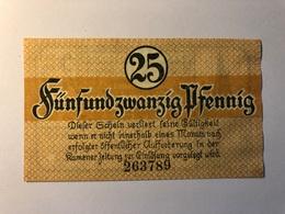 Allemagne Notgeld Allemagne Kamen 25 Pfennig - [ 3] 1918-1933 : République De Weimar