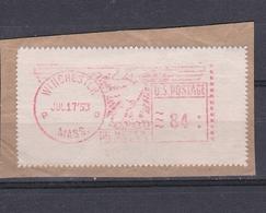 USA 1953 WINCHESTER PRAGMA FRAMA AUTOMATIC  STAMPS AUTOMATPORTO AUTOMATENMARKEN AUTOMAT MÄRKE - United States