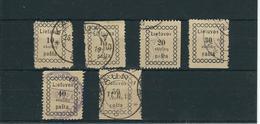 1918 , Kpl.Satz Nr. 2 Bis 8  #a1575 - Lituanie