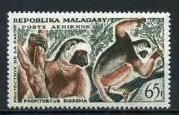 Madagascar YT PA 84 XX / MNH Lémurien Singe Monkey Animal Wildlife - Madagascar (1960-...)