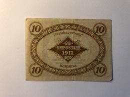 Allemagne Notgeld Allemagne Kamenz 10 Pfennig - [ 3] 1918-1933 : République De Weimar