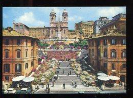 CPM Italie ROMA Piazza Di Spagna Trinita Dei Monti - Places & Squares
