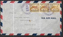 Lettre De San Salvador  14 Octobre 1937  Vers Fribourg En Breigau ( Allemagne ) - El Salvador
