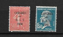 France 1930 Cat Yt N° 264 , 265  N* MLH - France