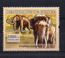 GUINEA. FAUNA. ELEPHANTS. MNH (2R0938) - Elefanten