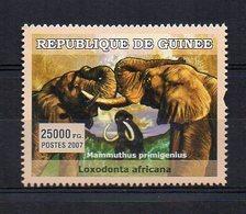 GUINEA. FAUNA. ELEPHANTS. MNH (2R0939) - Elefanten