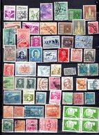 Pays D'Amerique Du Sud 62 Timbres  F8 - Stamps