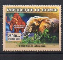 GUINEA. FAUNA. ELEPHANTS. MNH (2R0940) - Elefanten