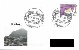 SPAIN. POSTMARK ROUTE OF THE CASTLES AND THE BATTLES. MARTOS. 2018 - Marcofilia - EMA ( Maquina De Huellas A Franquear)