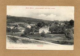 CPA - SAINT-STAIL (88) - Aspect Du Hameau Grandrupt Au Début Du Siècle - France