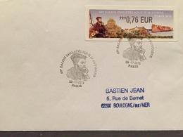 Lisa 2 Salon D'automne Paris 2015 Jacques Cartier - 2010-... Viñetas De Franqueo Illustradas