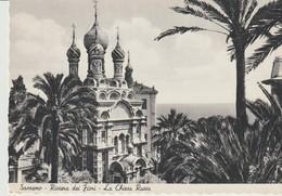 CPA - PHOTO - SANREMO - RIVIERA DES FLEURS - L'EGLISE RUSSE - 12751 - - San Remo