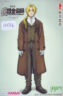 Carte Prépayée Japon * MANGA * FULLMETAL ALCHEMIST  * (16.556) COMIC * ANIME Japan Prepaid Card * CINEMA * FILM - Comics