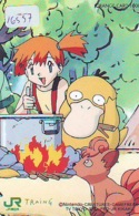 Carte Prépayée Japon * MANGA * TRAING * JR * NINTENDO  * (16.557) COMIC * ANIME Japan Prepaid Card * CINEMA * FILM - Comics