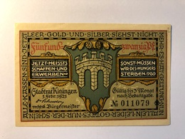 Allemagne Notgeld Allemagne Kitzingen 25 Pfennig - [ 3] 1918-1933 : République De Weimar