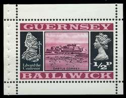 GUERNSEY HEFTCHENBLATT Nr HB 0-4 Postfrisch X871412 - Guernsey