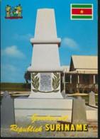 Suriname - Monument Te Nieuw Amsterdam [AA23-1.406 - Surinam