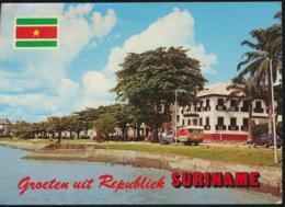 Suriname - De Waterkant Nabij Stenentrap [AA23-1.424 - Surinam