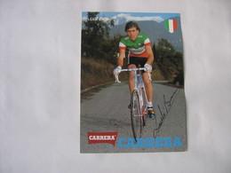 Cyclisme - Autographe - Carte Signée Bruno Leali - Cyclisme