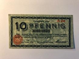 Allemagne Notgeld Allemagne Coln 10 Pfennig - [ 3] 1918-1933 : République De Weimar