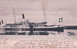 Bateau Du Léman La SUISSE (63) - VD Vaud