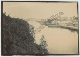 Bretagne . Finistère . Douarnenez Et L'Ile Tristan , Vues Du Viaduc . 1901 . - Lieux