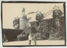 Bretagne . Finistère . Clohars-Fouesnant . La Chapelle Du Château De Kergos . 1901 . - Lugares