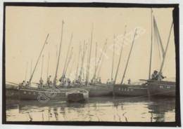 """Bretagne . Finistère . """"Arrivée Des Sardiniers"""" . Bateaux De Pêche Immatriculés D 93 Et D 2120 . Douarnenez . - Lieux"""
