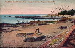 ! Saint Nazaire - Plage - Rochers Et Pointe De Villès Martin - Saint Nazaire