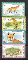 Mongolia  1987 The Red Fox MNH - Mongolie