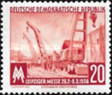 USED STAMPS OF DDR  DDR - Leipzig Fair-1956 - Oblitérés