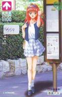 Carte Prépayée Japon * MANGA *  KONAMI * FEMME * (16.559) COMIC * ANIME Japan Prepaid Card * CINEMA * FILM - BD