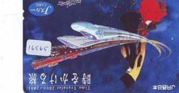 Carte Prépayée Japon * MANGA * GALAXY EXPRESS * (16.565) COMIC * ANIME Japan Prepaid Card * CINEMA * FILM - BD