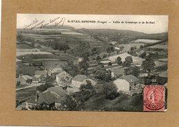 CPA - SAINT-STAIL (88) - Aspect Du Bourg Dans La Vallée De Grandrupt En 1906- Ad; Weick - France