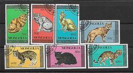 Mongolia 1987 Cats  Used - Mongolie