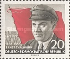 USED STAMPS OF DDR  DDR -DDR - The 70th Anniversary Of The Birth Of Ernst Thalmenn-1956 - Oblitérés