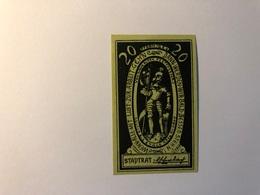 Allemagne Notgeld Allemagne Konigshofen 20 Pfennig - [ 3] 1918-1933 : République De Weimar