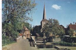EYNSFORD BRIDGE AND CHURCH - England