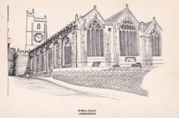 LAUNCESTON - ST MARY CHURCH - England