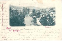 SARAJEVO Gruss Aus Sarajevo - Bosnie-Herzegovine