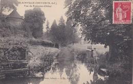 BLAINVILLE  CREVON  VUE DE FONTAINE  CHATEL - France