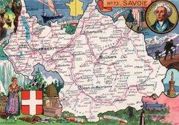 FRANCIA-SAVOIE N-73  FG-NV - Carte Geografiche