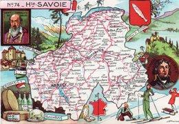 FRANCIA-HUTE SAVOIE N-74  FG-NV - Cartes Géographiques