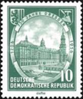 USED STAMPS OF DDR - The 750th Anniversary Of Dresden-1956 - Oblitérés